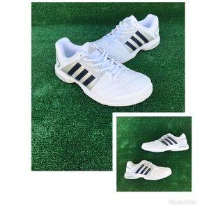 Adidas Barricade Approach White Tennis Shoes